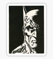 Print of BMan Sticker