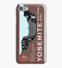Yosemite National Park Sign, California, USA iPhone Case/Skin