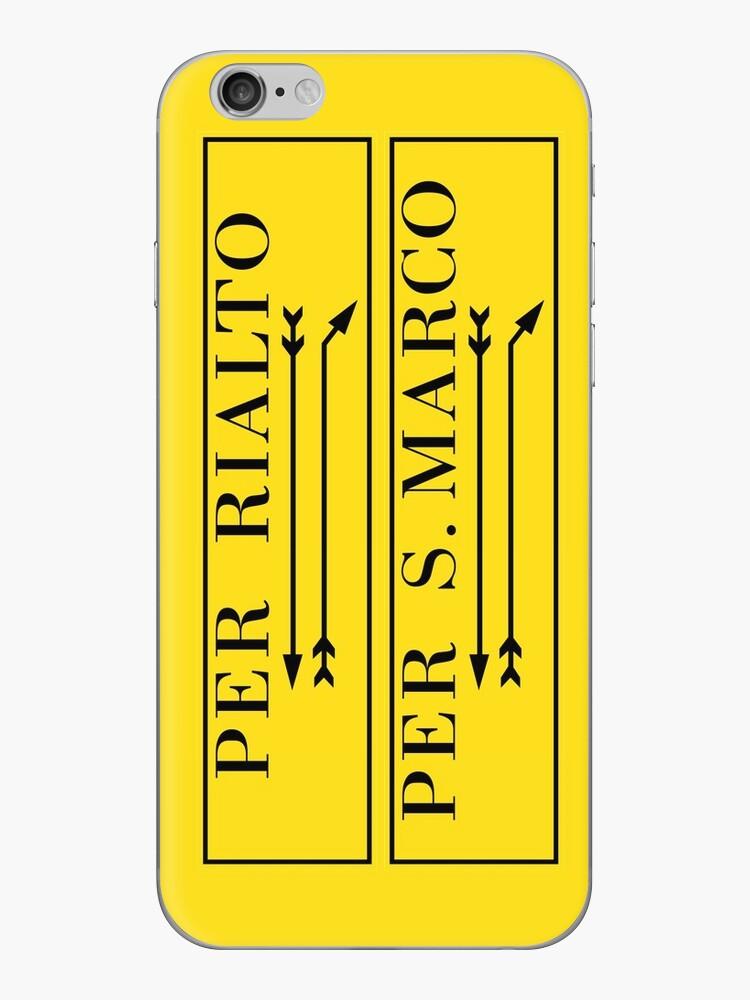 Per Rialto, Per San Marco, Venedig-Straßenschild, Italien von worldofsigns