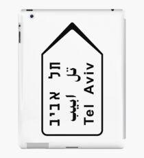 Tel Aviv Road Sign, Israel iPad Case/Skin