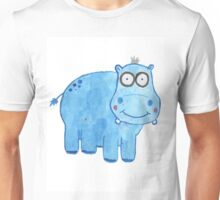 Hippo General/Greetings Card Unisex T-Shirt