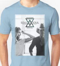 TIM MCGRAW & FAITH HILL SOUL 2 SOUL WORLD TOUR 2017 Unisex T-Shirt