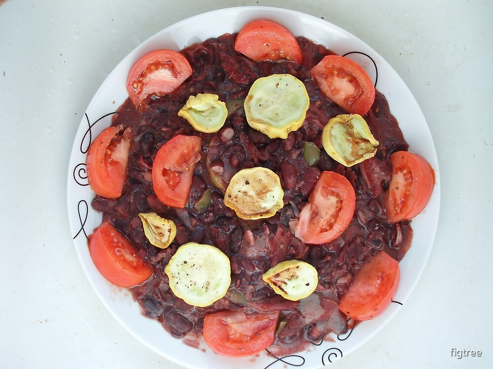 Red Beans and Rice with Vegetables by figtree