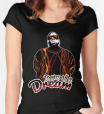 The Notorious B.I.G. - It was all a dream Women's Fitted Scoop T-Shirt