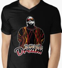 The Notorious B.I.G. - It was all a dream Mens V-Neck T-Shirt