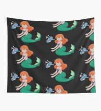 The Misty Mermaid Wall Tapestry