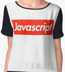 Javascript Chiffon Top