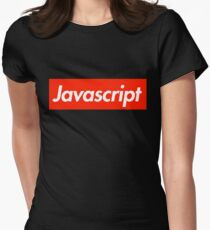 Javascript Women's Fitted T-Shirt
