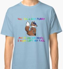 Gay Furry Classic T-Shirt