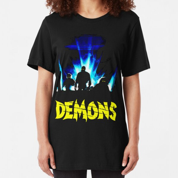 demons Slim Fit T-Shirt