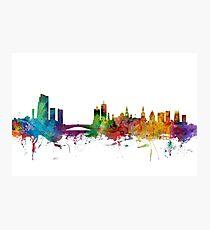Leeds England Skyline Photographic Print