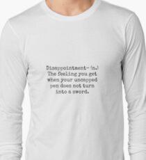 Percy Jackson Enttäuschung Langarmshirt