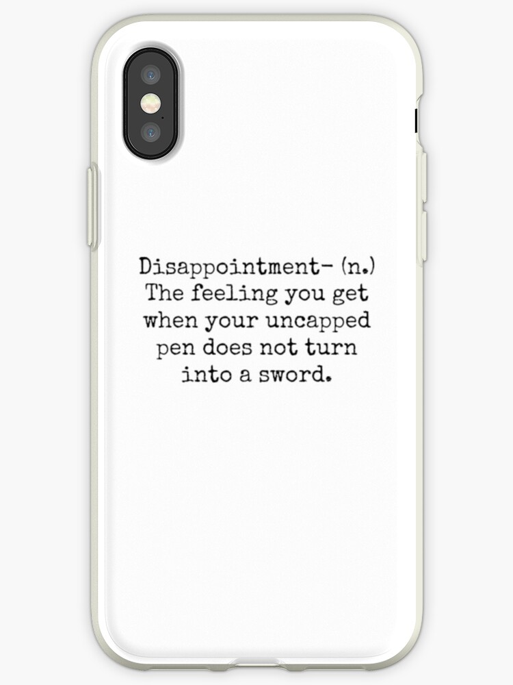 best service 4b7b1 0facd 'Percy Jackson Disappointment ' iPhone Case by BookishBoutique