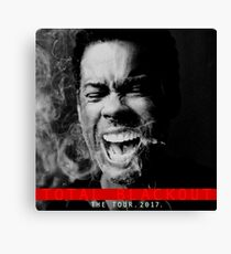chris rock the tour 2017-total blackout Canvas Print