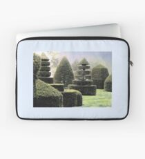 Dawn In A Topiary Garden Laptop Sleeve