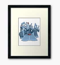 History in the making Framed Print
