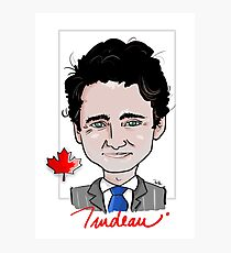 Justin Trudeau - Canadian Prime Minister Photographic Print