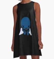 The Binding of Isaac - ??? (Blue Baby) Minimal A-Line Dress