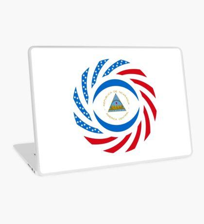Nicaraguan American Multinational Patriot Flag Series Laptop Skin