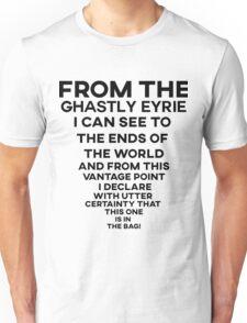 Dota 2 - Skywrath Ghaslty Eyrie Quote (Black) Unisex T-Shirt