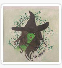 The wicked witch Elphaba  Sticker