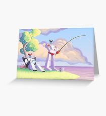 Ratchet and Prowl's Vacation Greeting Card