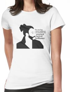 La Fayette Lyric Silhouette Womens Fitted T-Shirt
