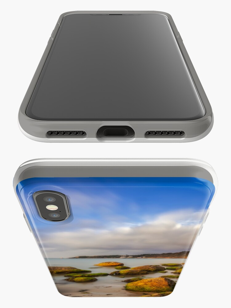 Alternate view of Totland Bay IOW  iPhone Case & Cover