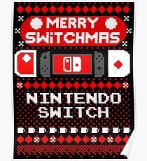 MERRY SWITCHMAS UGLY SWEATER Poster