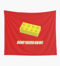 Don't Tread On Me Block Wall Tapestry
