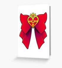 BATTLE BOW Greeting Card