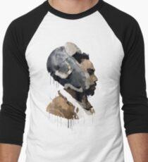 Gambino Droplet No Background Men's Baseball ¾ T-Shirt