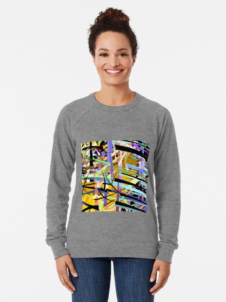 Alternate view of Shatter Frame Lightweight Sweatshirt