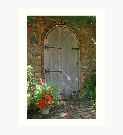 *The Secret Doorway* Art Print