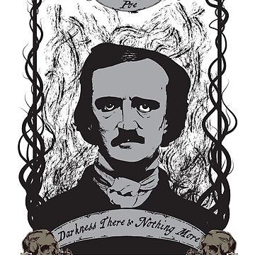 Edgar Allan Poe - The Raven by kreepykustomz