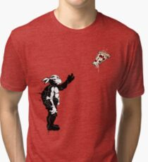 I WANT PIZZA Tri-blend T-Shirt