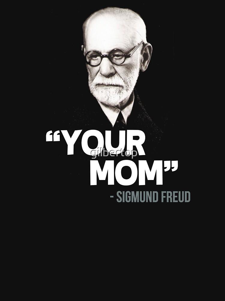 """""""Deine Mama"""" - Sigmund Freud Zitat von gilbertop"""
