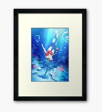 Kidd: Under The Sea Framed Print