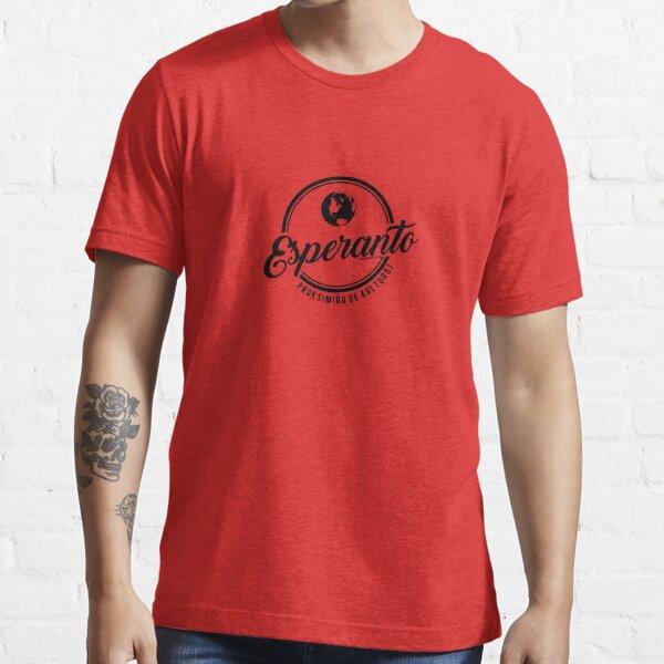 Esperanto - Proksimiĝo de Kulturoj Essential T-Shirt