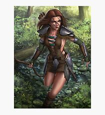 Aela the huntress Photographic Print