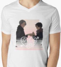 Viktor & Yuri Engagement V2 Men's V-Neck T-Shirt
