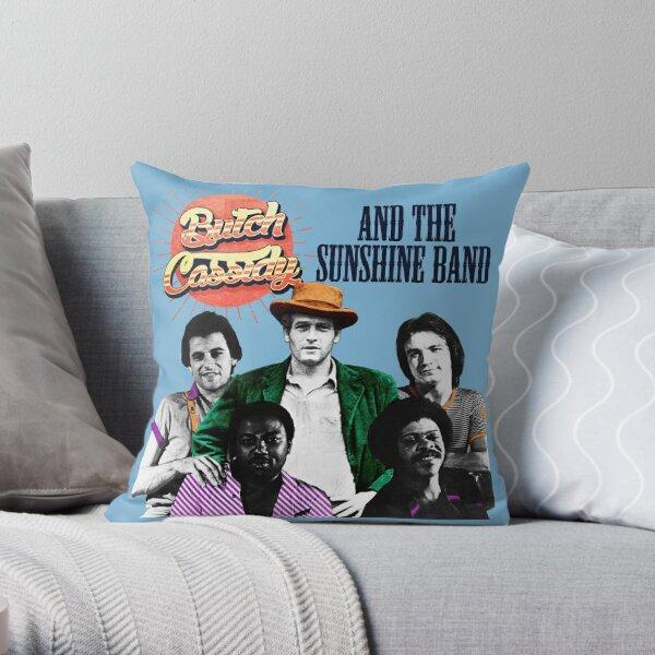 BC & The Sunshine Band Throw Pillow