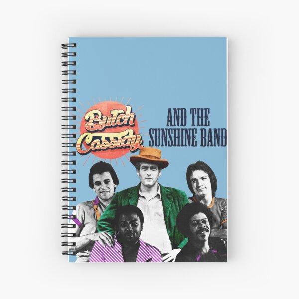 BC & The Sunshine Band Spiral Notebook