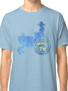 Nebraska State Flag Farmer Tractor Classic T-Shirt