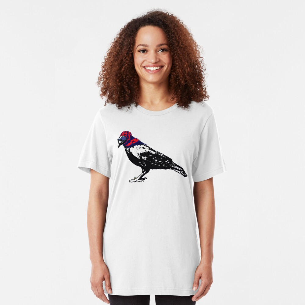 Here's To You Mrs. Raven Slim Fit T-Shirt