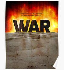 It's War Poster