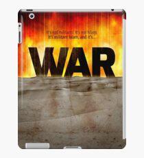 It's War iPad Case/Skin
