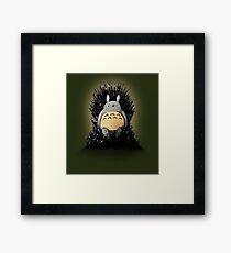 Throne of the Forest Spirit Framed Print