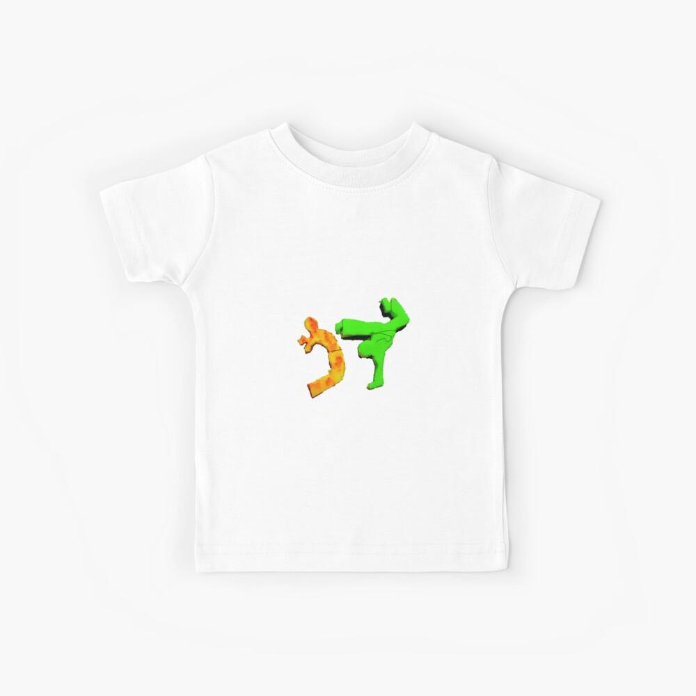 capoeira abada kampfkunst brasilien Kinder T-Shirt