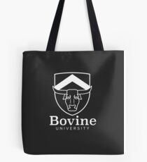 The Simpsons - Bovine University | White Tote Bag